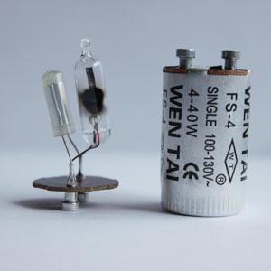 110v尖泡铝壳启动器