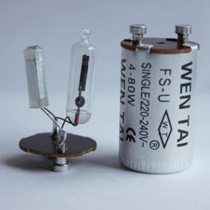 220v尖泡鋁殼啟動器
